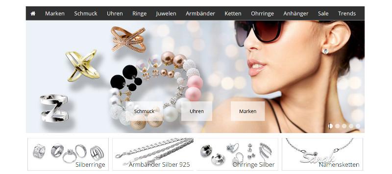 Namensschmuck Online Shop