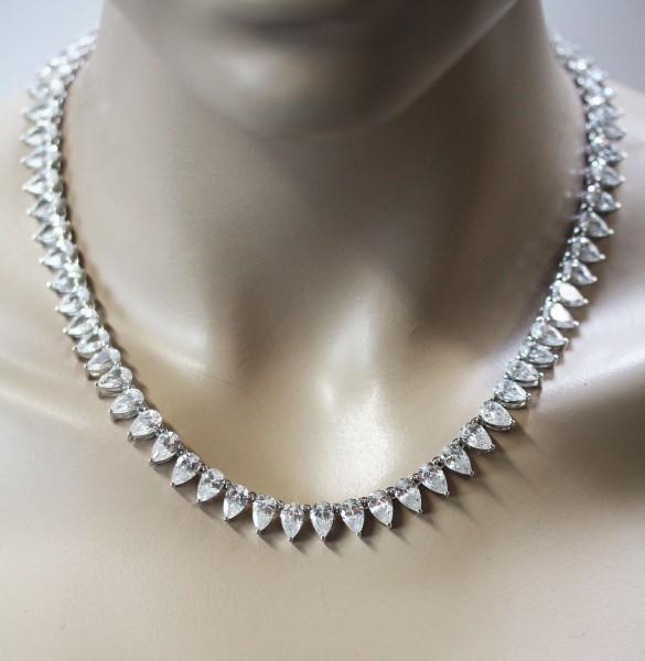 Collier Kette Designercollier Sterling S...