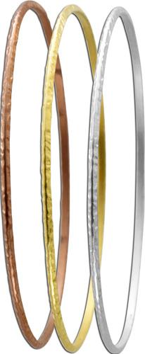 Armreif  925er Sterling Silber 3-teilig