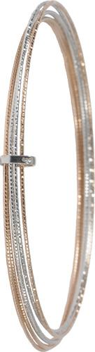 Armreif  in Silber Sterlingsilber 925/-,  6-teilig