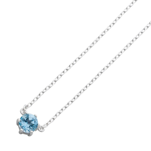 Kette Collier Sterling Silber 925 Blauto...