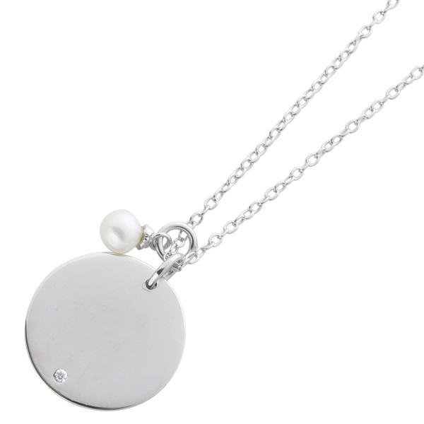 Kette Sterling Silber 925 gravierbare Pl...