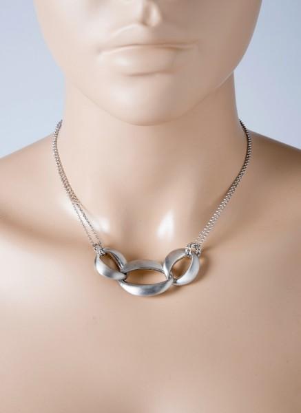 Kette Collier Erbskette Sterling Silber ...