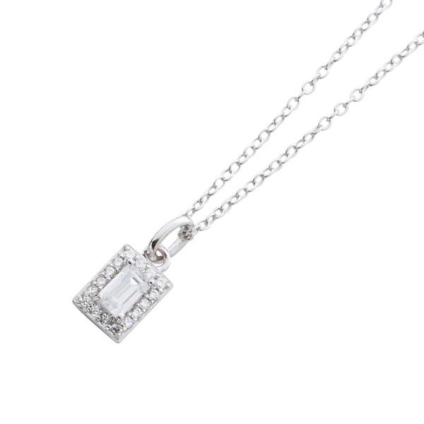 Halskette Sterling Silber 925 mit baquet...