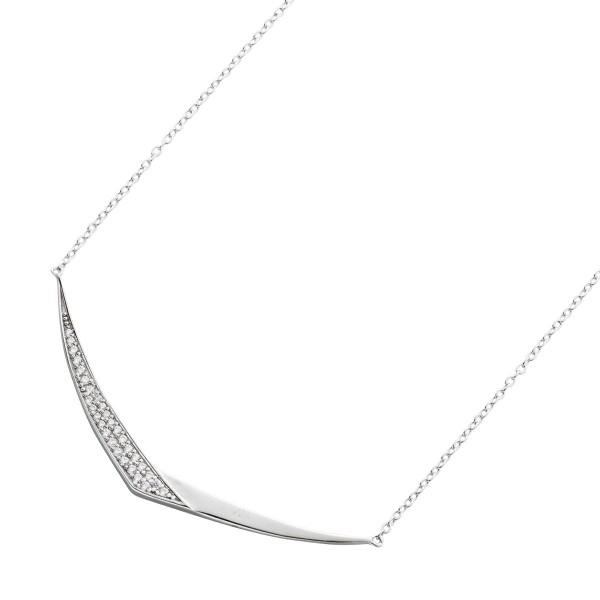 Silberkette Vorderteil Collier Silber 92...