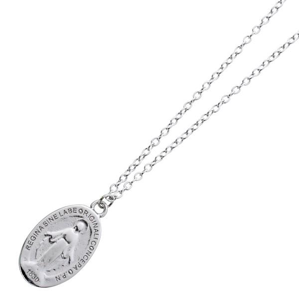 Maria Kette Silber 925 Anhänger Halskette