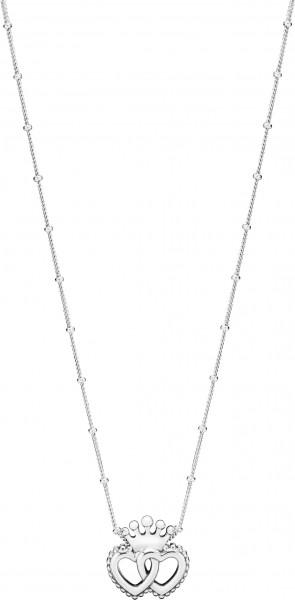 PANDORA SALE Halskette 397719-45 United Regal Hearts Necklace 45cm Doppelherz Silber 925
