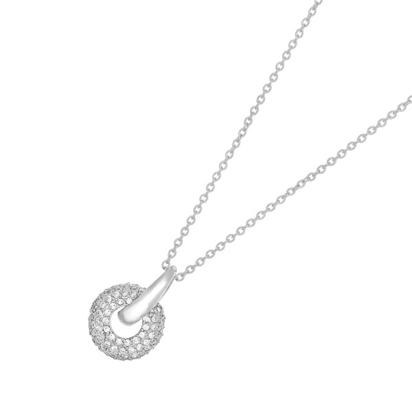 JOANLI NOR Halskette Calluna Silber 925 Anhänger klare Zirkonia 208 003