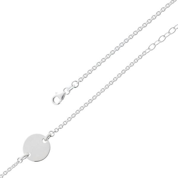 Gravurband Idband Freundschaftsarmbänder Gravur Silber 925 personalisierter Schmuck