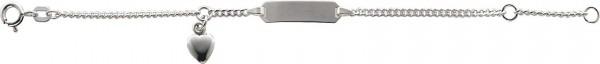 ID-Band (gravierbar) aus echtem Silber S...