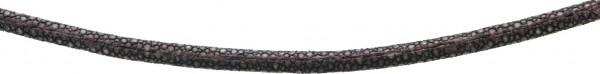 Collier 43 cm Länge mit 5 cm Verlängerungskette. Ein anschmiegsames Ledercollier brauner Rochen 5mm Durchmesser mit stabilem Karabinerverschluss aus echtem Silber Sterlingsilber 925/-. Dazu gibt es auch den passenden Armreif (Art.-Nr.:290491000) – zusam
